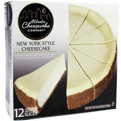 Atlanta Cheesecake Company New York Style Cheesecake 1.7 kg / 3.8 lb