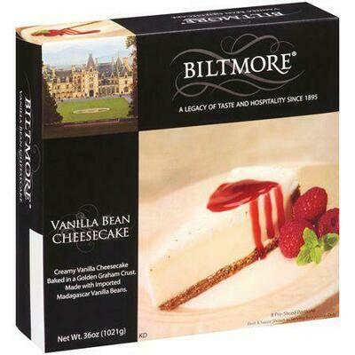 Biltmore Vanilla Bean Cheesecake 1.02 kg / 2.5 lb