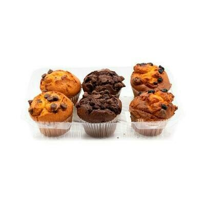 Member's Selection. Variety Muffins 6CT