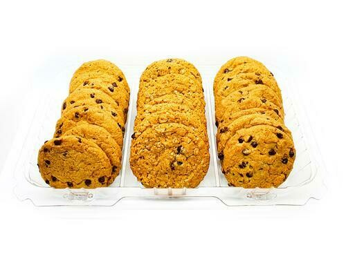 Member's Selection. Variety Cookie: Chocolate Chips   Oatmeal Raisins 24CT