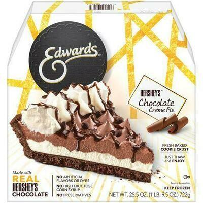 Edwards Chocolate Cream Pie, 721 g / 1.59 lb