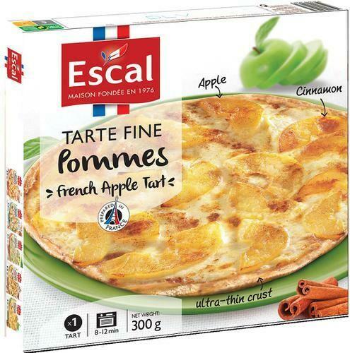 Escal Apple Flatbread 2 ct / 300 g / 10.5 oz