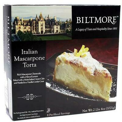 Biltmore Mascarpone Torta 1021 g / 36 oz