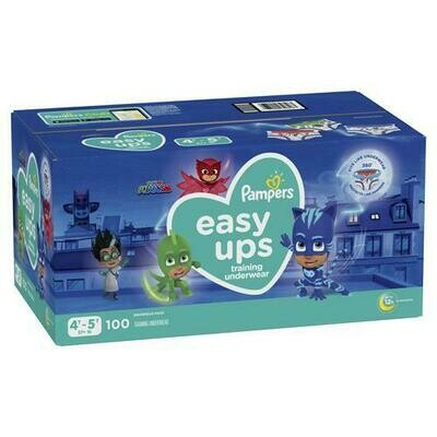 Pampers Easy Ups Boy Diapers Size 4T-5T/100 ct