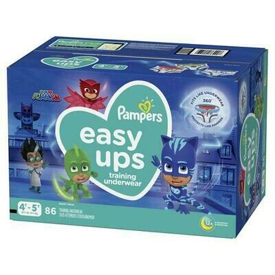 Pampers Easy Ups Boy Size 4T-5T/86ct