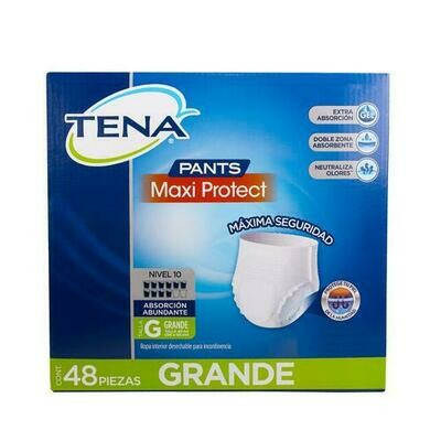Tena Pants Adult Diaper 48 units / Size G