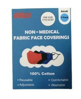 Think Dog Cotton Face Masks 3pk