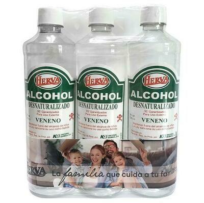 Herva Alcohol 95° 3 units/24 oz