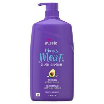 Aussie Miracle Moist Shampoo 26.2 oz