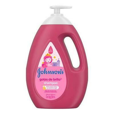 Johnson´s Shampoo Gotas Brillo 1 L