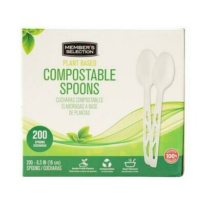 Member's Selection Compostable Spoons 200 pk