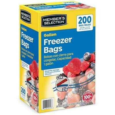 Member's Selection Gallon Freezer Bags 4 pk/50 Bags