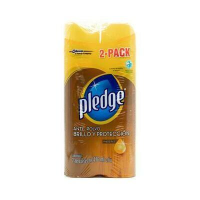 Pledge Wood Cleaner 2 units/476 ml