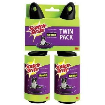 Scotch Brite Pet Hair Rollers 2 Units