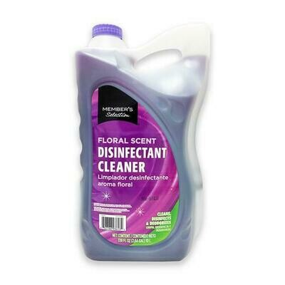 Member's Selection Floral Scent Disinfectant Cleaner 10 L / 2.64 Gallon