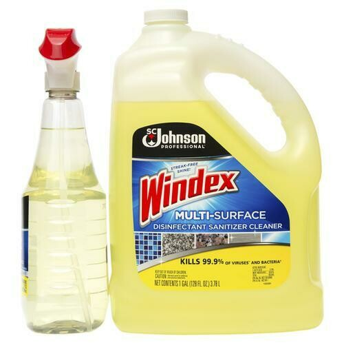 Windex Multisurface Cleaner 1 gl + 750 ml