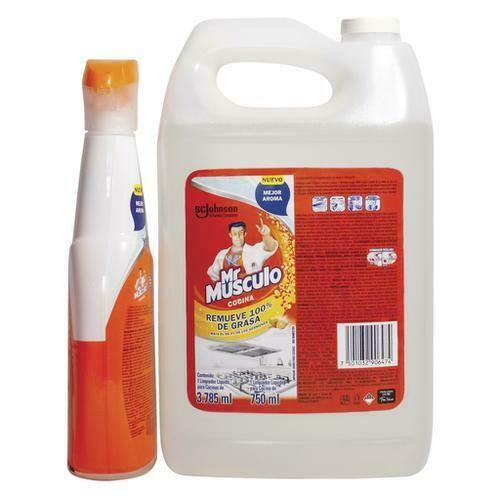 Mr. Músculo Kitchen Cleaner 3.78 lt + 750 ml