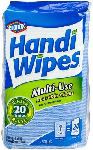 Clorox Handi Wipes Cleaning Cloths 72 units