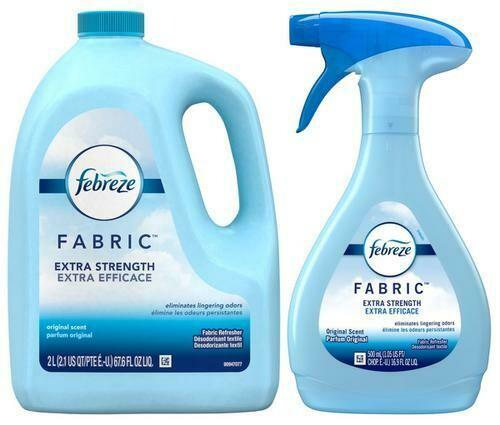Febreze Fabric Refresher bottle plus Refill 67.6oz + 19.6oz