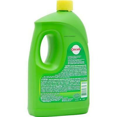 Cascade Liquid Lemon Dish Detergent 155 oz