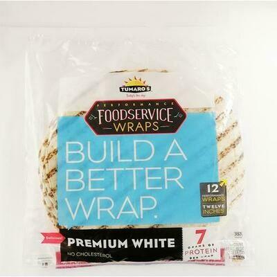 Tumaro's White Wrap 12ct /38g / 1.3 oz