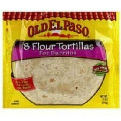 Old El Paso Flour Tortillas 3 packages/326g