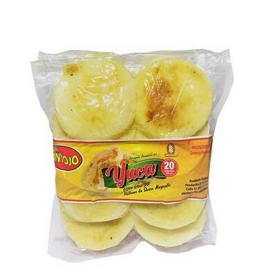El Antojo  Casava and Cheese Arepas   550g  / 1.2 lb