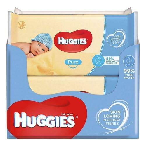 Huggies Baby Wipes 10 packs/56 units