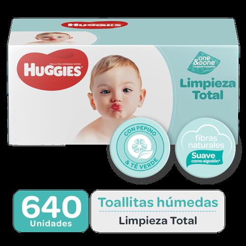 Huggies Baby Wipes One & Done 640 units