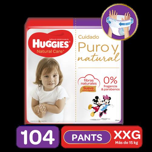Huggies Natural Care Pants Size XXG/5 104 units