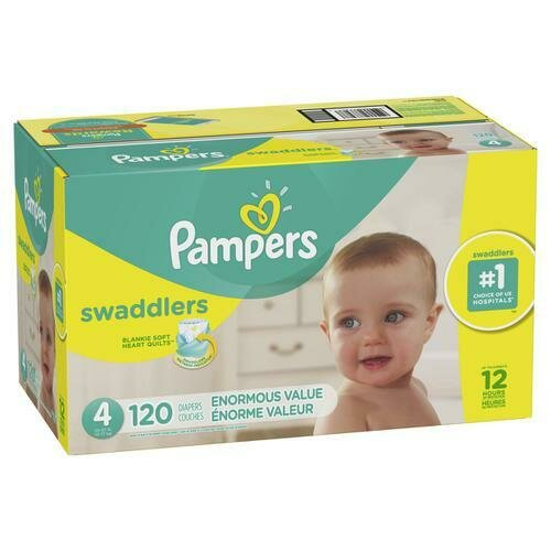 Pampers Swaddlers Enormous Size 4/120ct