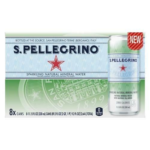 San Pellegrino Sparkling Water 8 units/330 ml