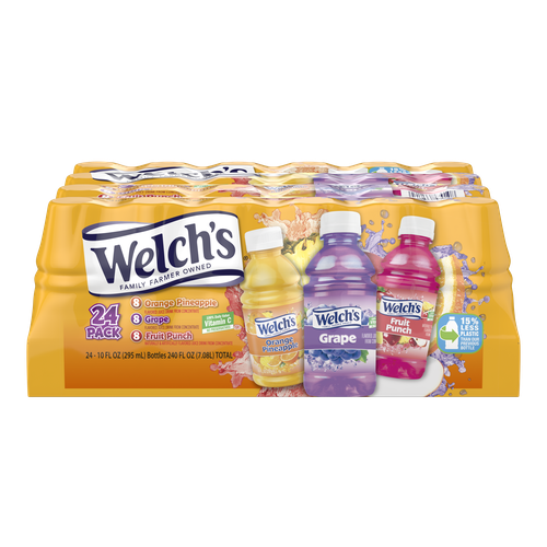 Welch's Juice Variety 24 pack / 10 oz