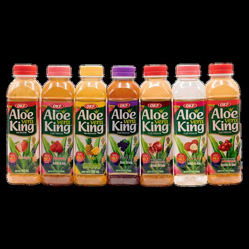 OKF Aloe Vera Assort Drink Mix 10 unidades/500 ml