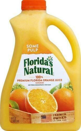 Florida's Natural Home Squeezed Orange Juice 2.63 l / 89 oz