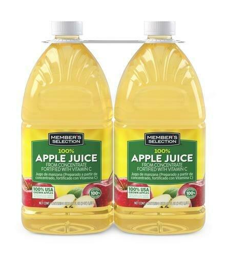 Member's Selection 100% Apple Juice 2 pk/96 oz