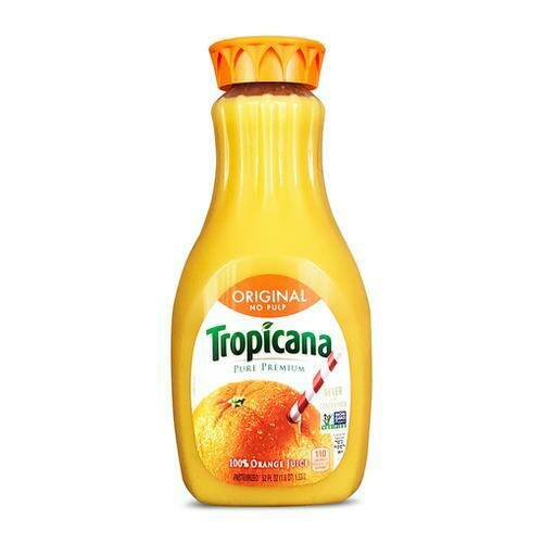 Tropicana Orange Juice   1.5 l / 52 oz