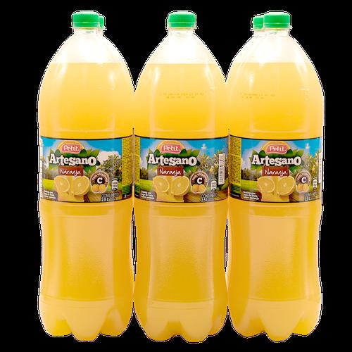 Artesano Orange Drink 6 units/2.5lt