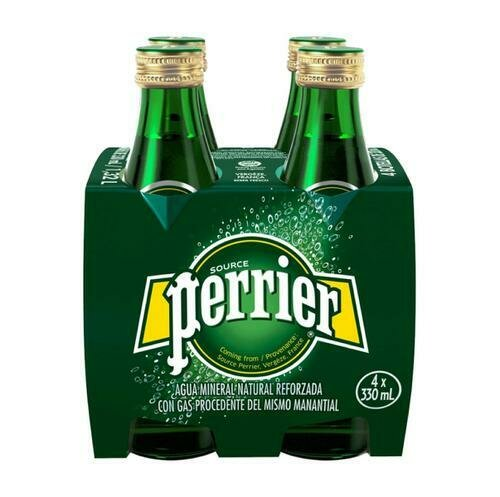 Perrier Sparkling Water 4 units / 11.15 oz