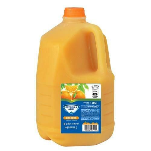 Estrella Azul Orange Drink 3.79 l / 1 gal