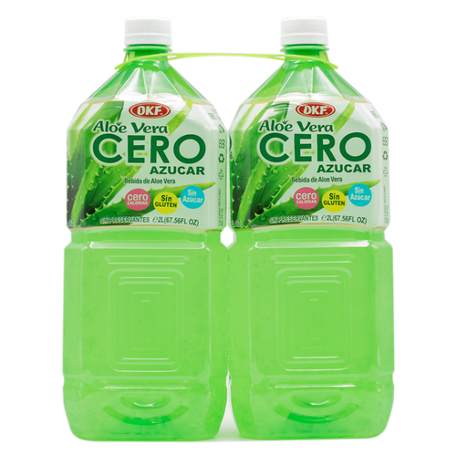 OKF Aloe Vera Drink Sugar Free 2 units/2lt