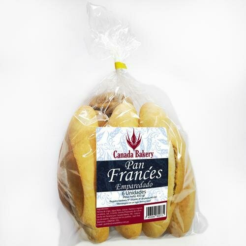 Canada Bakery. French Baguette 6CT
