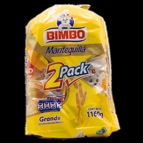 Bimbo Butter Bread 2 units/580g