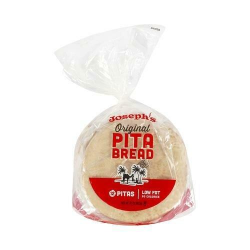 Joseph's. White Pita Bread 12CT