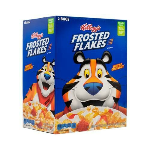 Kellogg's Frosted Flakes 61.9 oz/ 1.75 kg