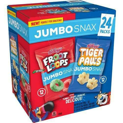 Kellogg's Jumbo Snax 24 pk/0.45 oz