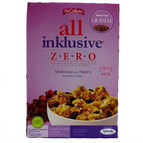 All Inklusive Multicereal with Raisins 2 units /500 g