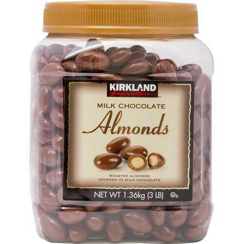 Milk Chocolate Almonds 48 oz/ 1.36 kg