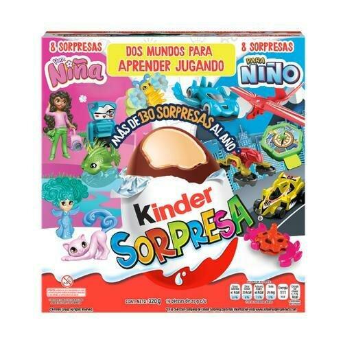 Kinder Sorpresa Chocolate Egg 16 units/20 g