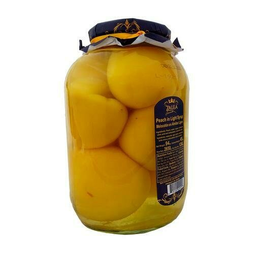 Zelea Gourmet Whole Peaches in Light Syrup 94 oz